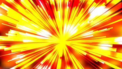 Abstract Red White and Yellow Rays Background