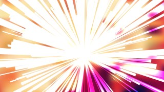 Abstract Red White and Yellow Sunburst Background Vector Image