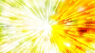 Abstract Red Yellow and Green Sunburst Background