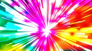 Abstract Red Yellow and Green Rays Background Template