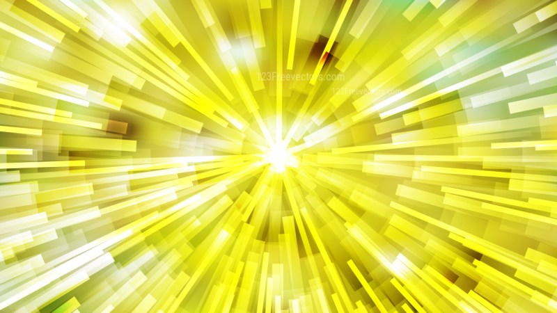 Abstract Yellow and White Rays Background