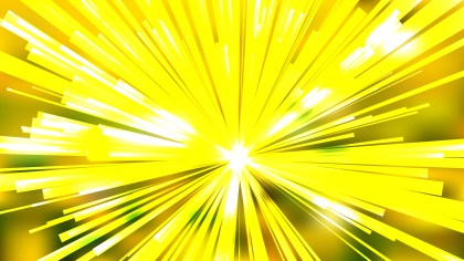 Abstract Yellow and White Rays Background Graphic