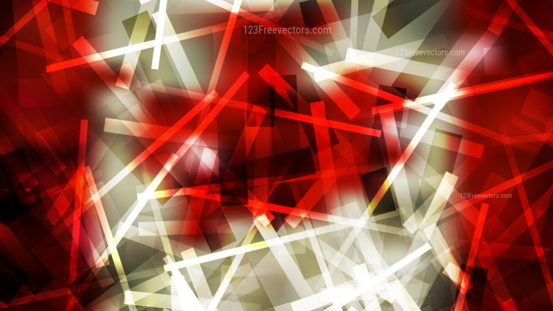 Beige and Red Chaotic Overlapping Lines Background