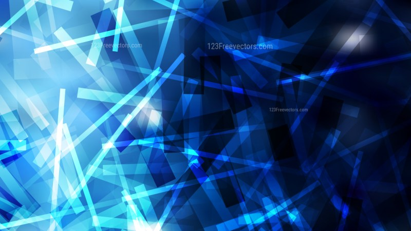 Cool Blue Overlapping Intersecting Lines Background