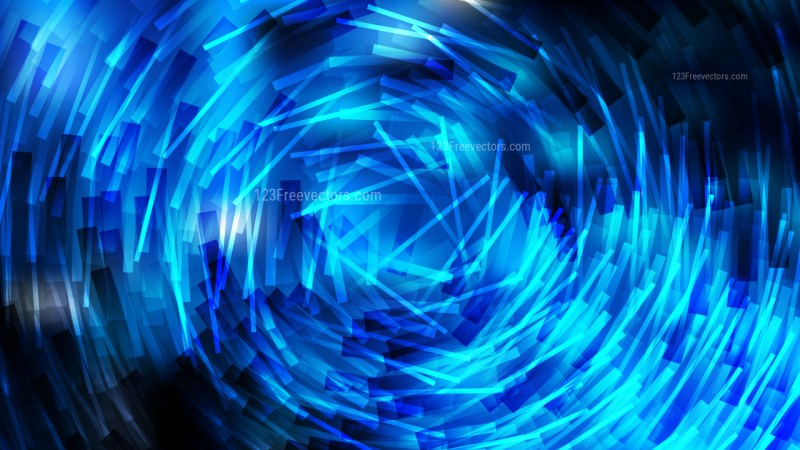 Cool Blue Irregular Circular Lines Background