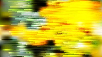 Abstract Black Green and Yellow Horizontal Lines Background Image