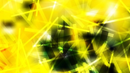 Abstract Black Green and Yellow Overlapping Lines Background