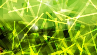 Abstract Black Green and Yellow Dynamic Intersecting Lines background