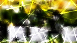 Abstract Black Green and Yellow Intersecting Lines background Design