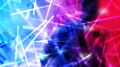 Abstract Black Pink and Blue Overlapping Lines Stripes Background Vector Illustration