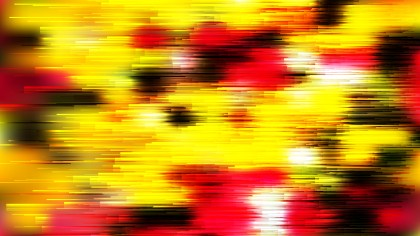 Abstract Black Red and Yellow Horizontal Lines Background