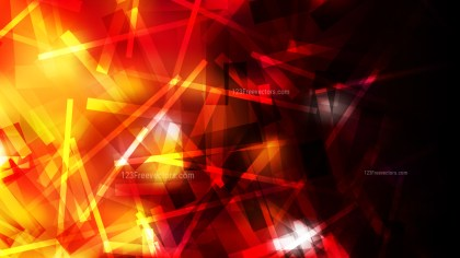 Abstract Black Red and Yellow Chaotic Overlapping Lines Background