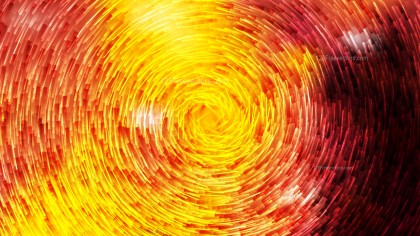 Abstract Black Red and Yellow Circular Lines Background