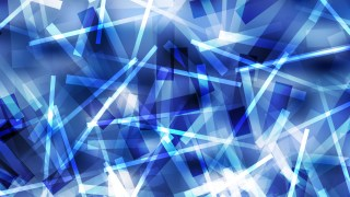 Abstract Blue Irregular Lines Background