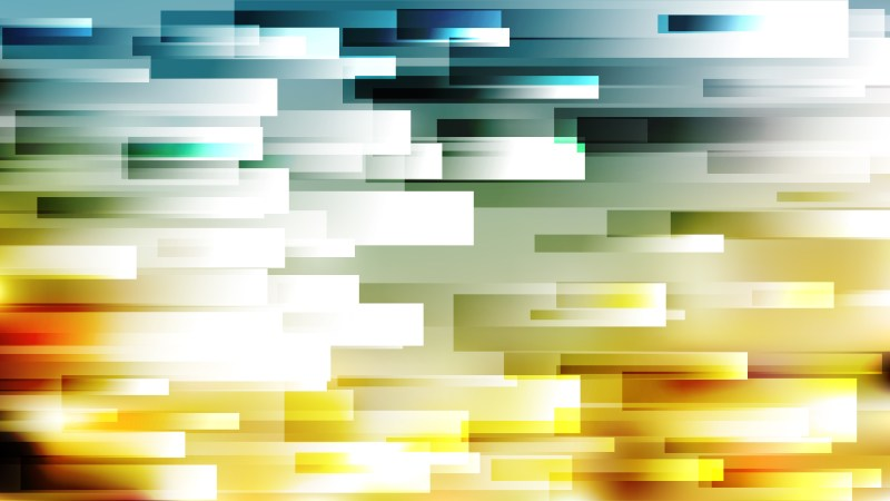 Blue and Gold Horizontal Lines and Stripes Background