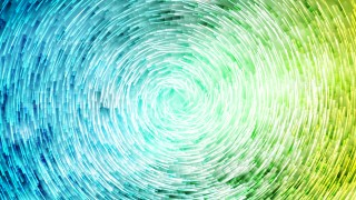 Abstract Blue and Green Circular Lines Background Vector