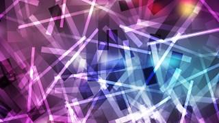 Blue and Purple Geometric Random Irregular Lines Background