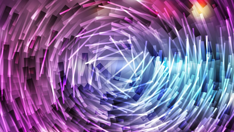 Abstract Blue and Purple Random Circular Lines Background