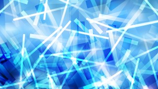 Blue and White Chaotic Overlapping Lines Background