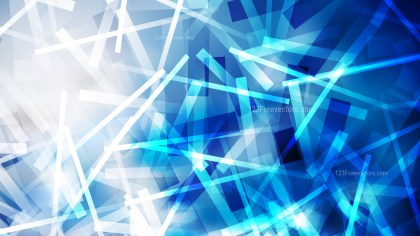 Abstract Blue and White Intersecting Lines Stripes Background