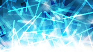 Blue and White Geometric Irregular Lines Background