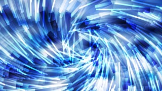 Abstract Blue and White Random Twirl Striped Lines Background