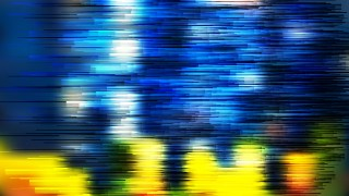 Abstract Blue and Yellow Horizontal Lines Background Vector Art