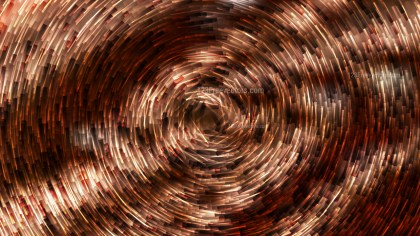 Abstract Coffee Brown Circular Lines Background Design