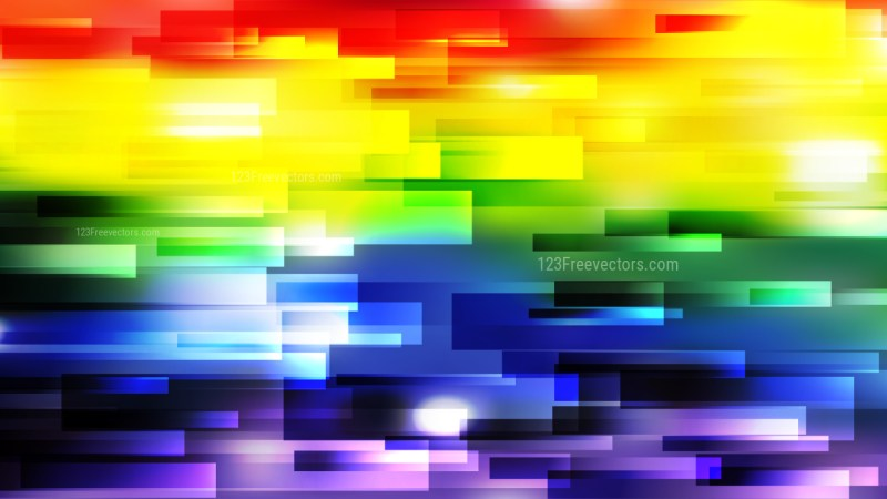 Colorful Horizontal Lines Background