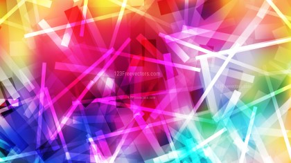 Abstract Colorful Random Overlapping Lines Background