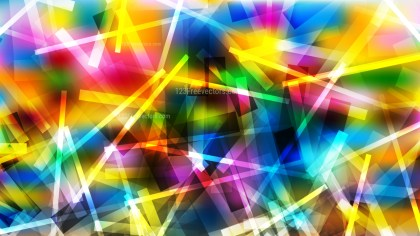 Abstract Colorful Chaotic Overlapping Lines Background