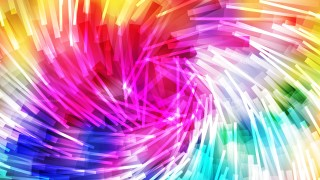 Colorful Dynamic Twirl Striped Lines Background Design