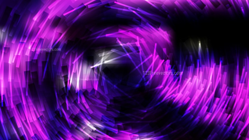 Abstract Cool Purple Random Circular Striped Lines Background Image