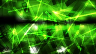 Abstract Green and Black Asymmetric Irregular Lines Background