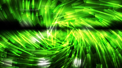 Abstract Green and Black Dynamic Twirl Striped Lines Background Graphic