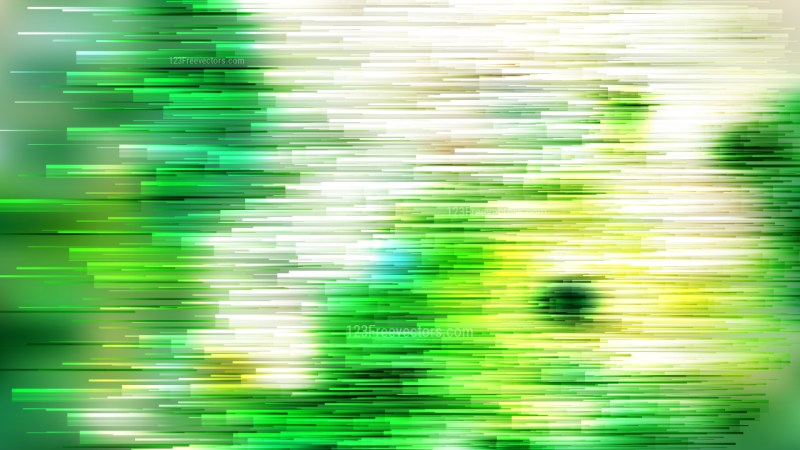 Abstract Green and White Horizontal Lines Background