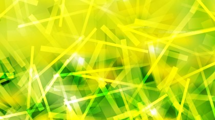 Abstract Green and Yellow Intersecting Lines Stripes Background Image