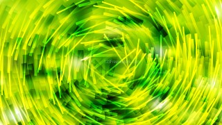 Abstract Green and Yellow Irregular Circular Striped Lines Background