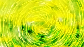 Abstract Green and Yellow Irregular Circular Lines Background Design