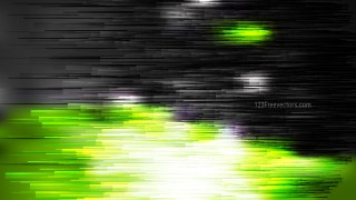 Abstract Green Black and White Horizontal Lines Background