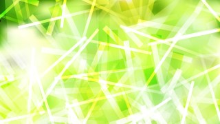 Abstract Green Yellow and White Random Overlapping Lines Background Vector Art