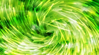 Green Yellow and White Random Twirl Striped Lines Background