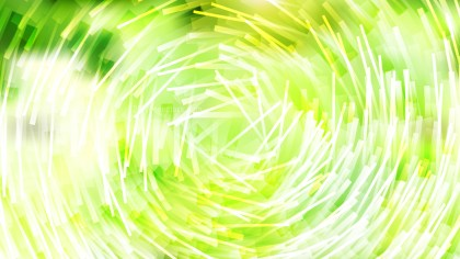 Green Yellow and White Irregular Circular Lines Background Vector