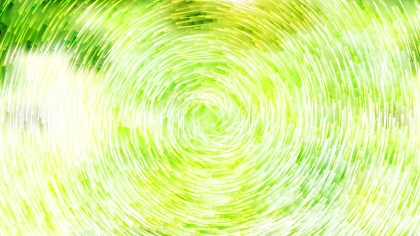 Abstract Green Yellow and White Circular Lines Background Vector Graphic