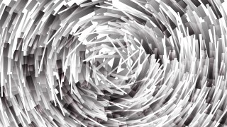 Grey and White Irregular Circular Striped Lines Background Vector Graphic