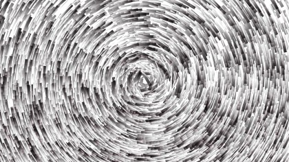 Abstract Grey and White Circular Lines Background