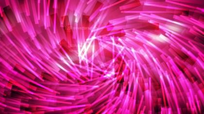 Hot Pink Irregular Twirl Striped Lines Background Vector Art