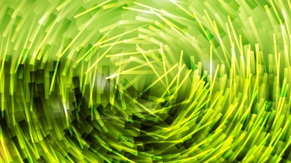 Abstract Lime Green Irregular Circular Lines Background