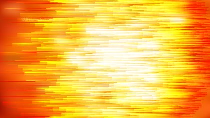 Abstract Orange and White Horizontal Lines Background Illustration