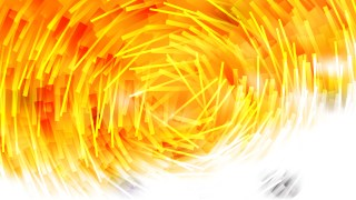 Orange and White Random Circular Lines Background
